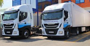 TLX aumenta su flota con dos tractoras propulsadas por gas
